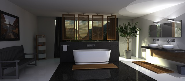 A MODERN BATHROOMS For Luxury Home